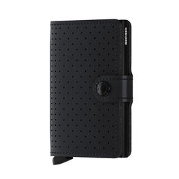 secrid miniwallet perforated black front 1000