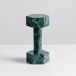 addition studio dumbbell green marble main 1000