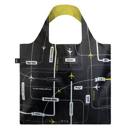 loqi shopping bag airport departures front 1000