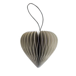 nordic rooms ornament heart sage green 1000