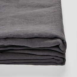 in bed linen charcoal sheet 1000