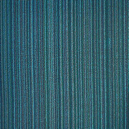 chilewich big mat skinny stripe turquoise detail 1000