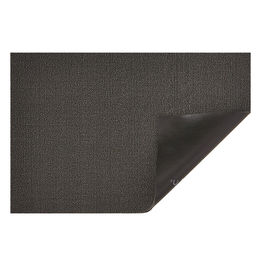 chilewich shag doormat solid mercury 1000