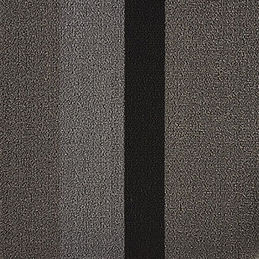 chilewich shag doormat bold stripe silver black detail 1000