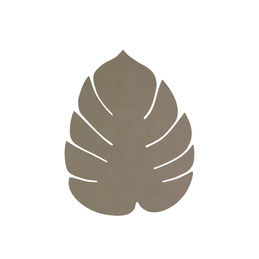 linddna table mat leaf small nupo army green 1000