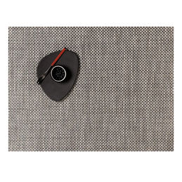 chilewich placemat basketweave rectangle oyster 1000