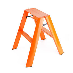 lucano 2step ladder orange 1000