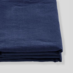 in bed linen sheet midnight blue 1000
