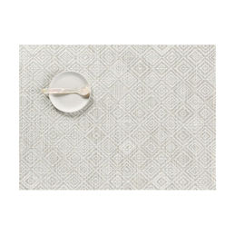 chilewich placemat mosaic grey 1000