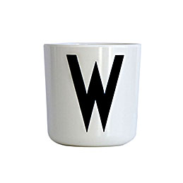 Design Letters Melamine Cup W