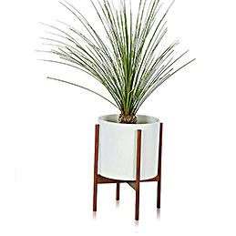 modernica white small pot