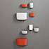 nc pocket organizer orange white grey