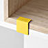 muuto stacked clips yellow 800