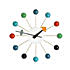 vitra george nelson ball clockmulti colour 800