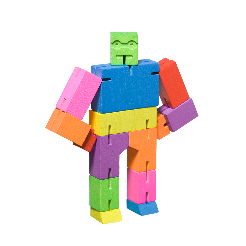 areaware cubebot small multi 4 1000