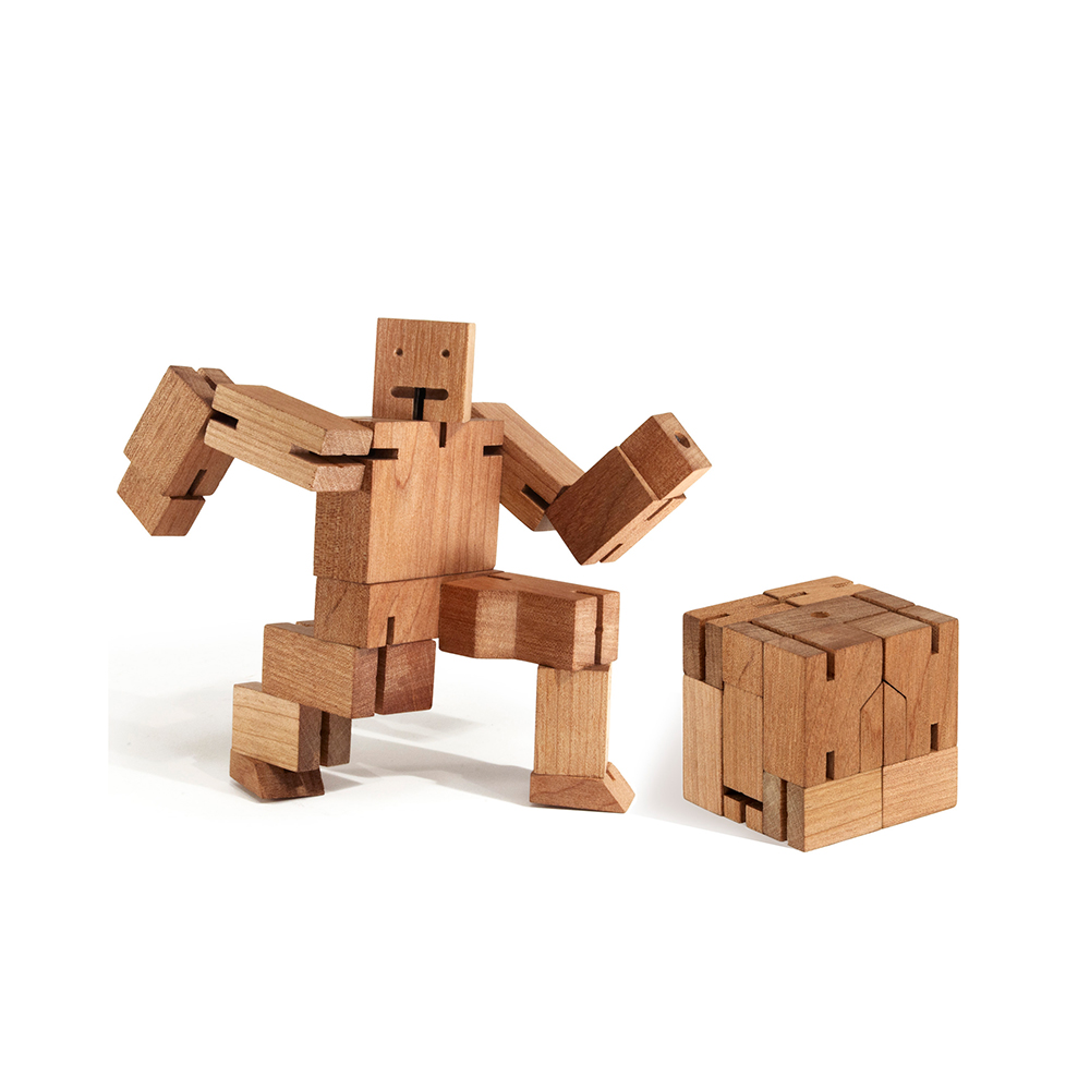 areaware cubebot medium natural 4 1000