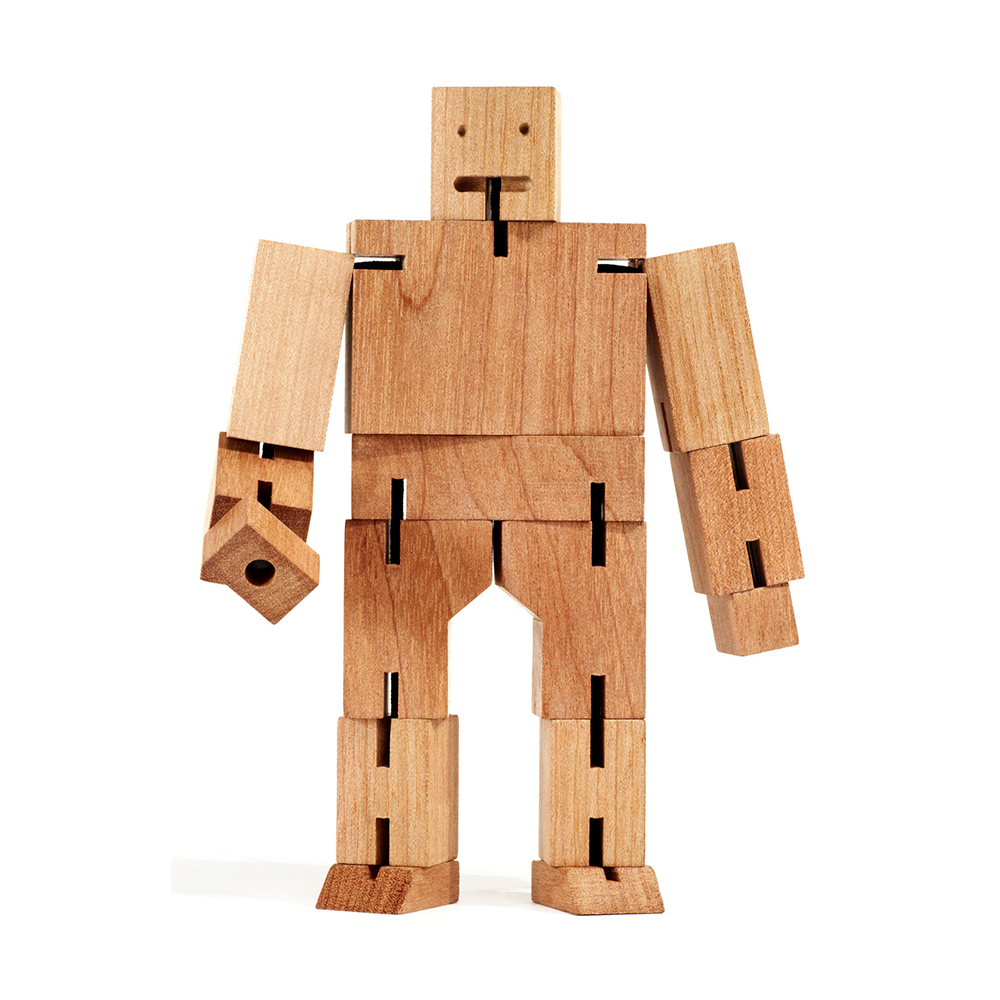 areaware cubebot medium natural 7 1000