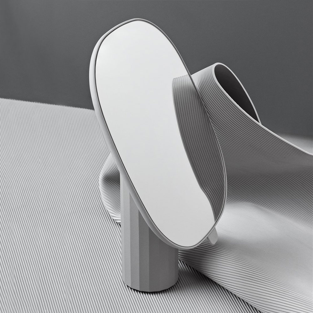 muuto mimic mirror grey concept 1000
