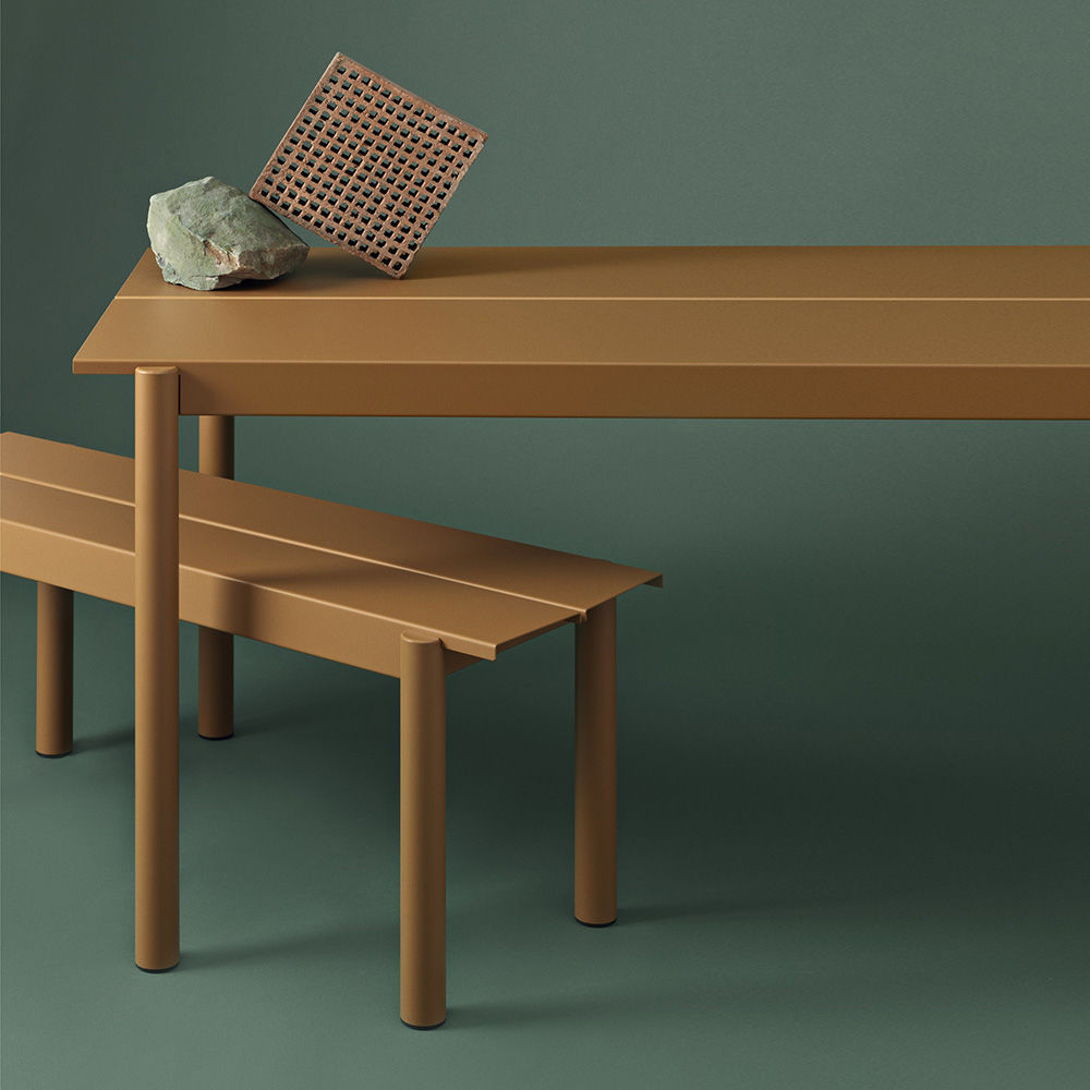 muuto linear burnt orange concept 1000