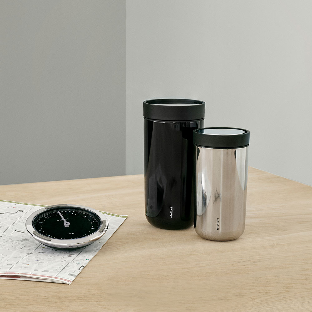stelton to go click 0 4l black 0 2l steel 1000