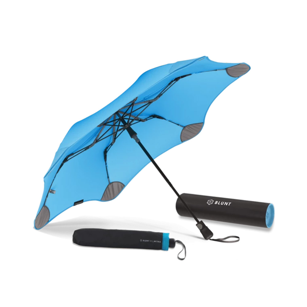 blunt umbrella aqua blue metro 1 1000