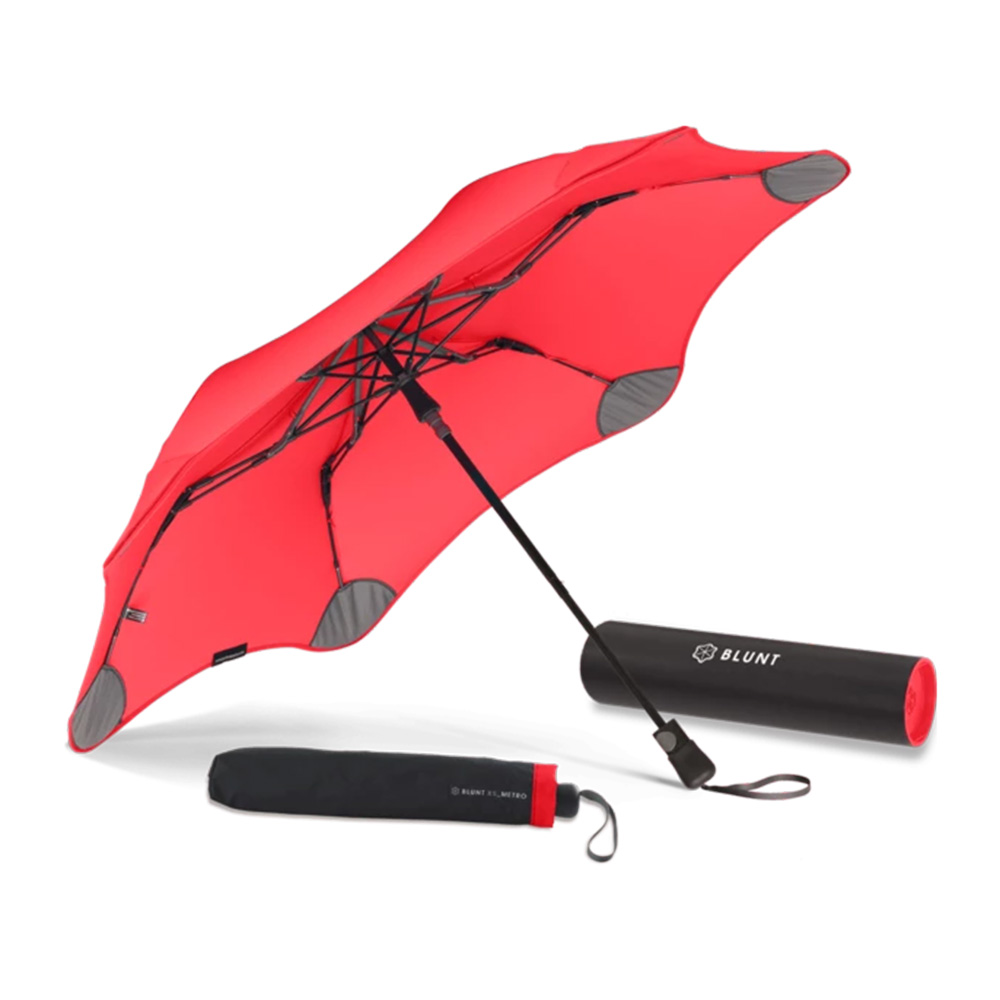 blunt umbrella red metro 3 1000