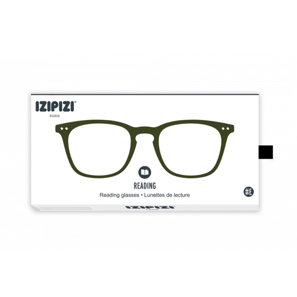 izipizi reading glasse e khaki green box 1000