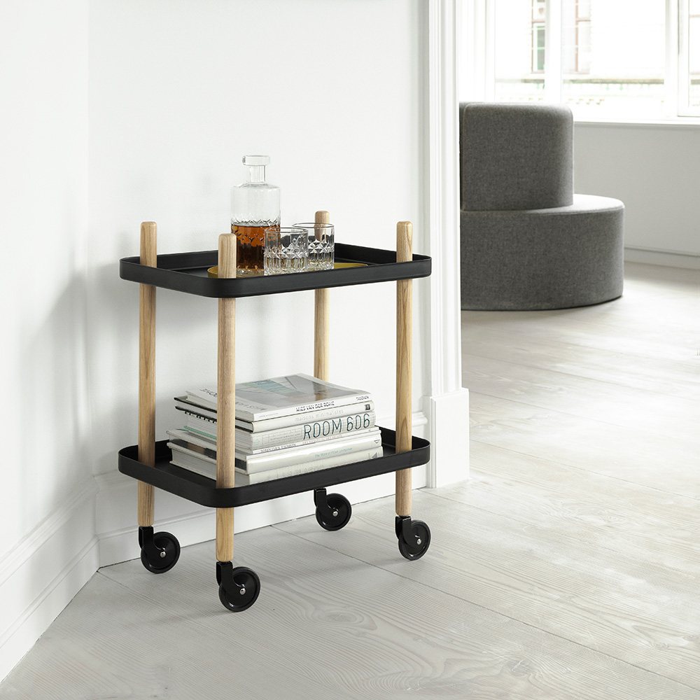 normann copenhagen block trolley black lifestyle 1000