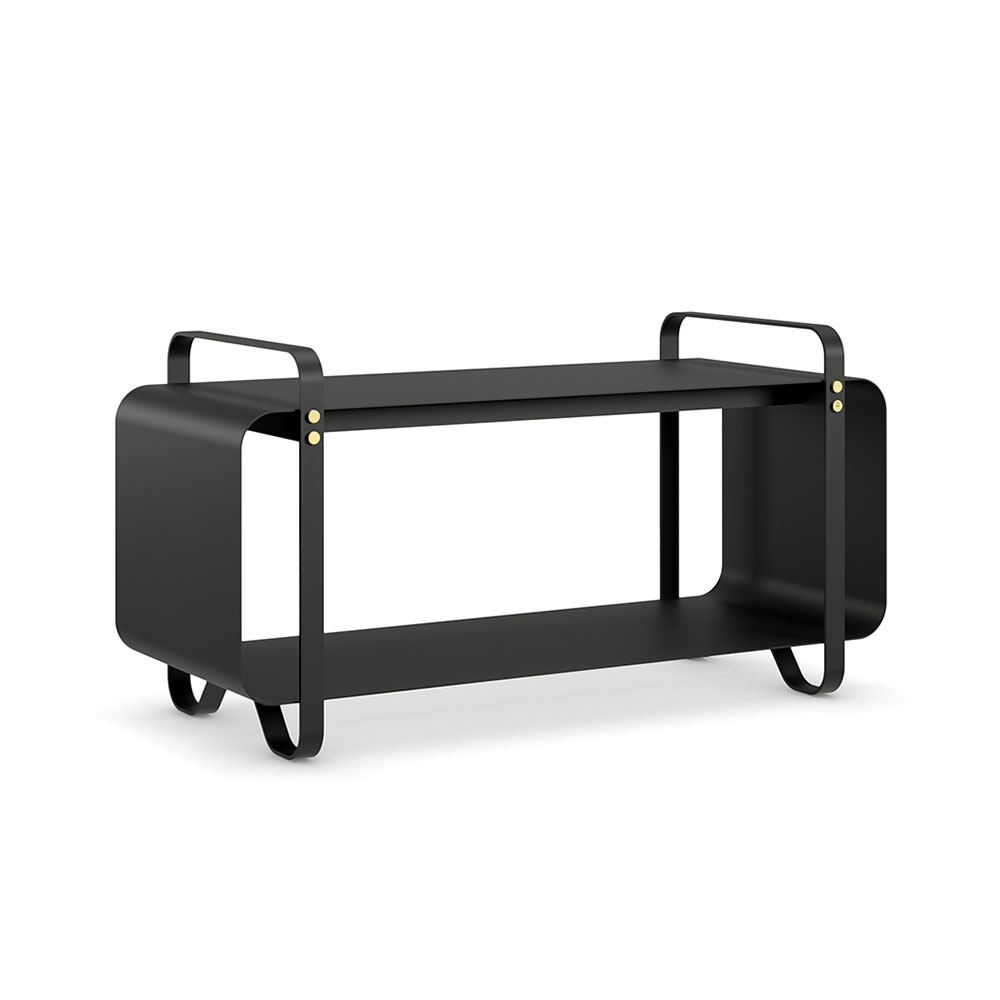 eldvarm bench ninne noir black angle shadow 1000
