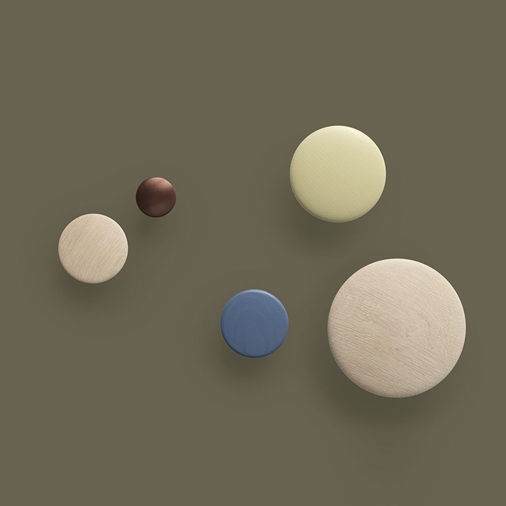 muuto the dots group wood metal background 1000