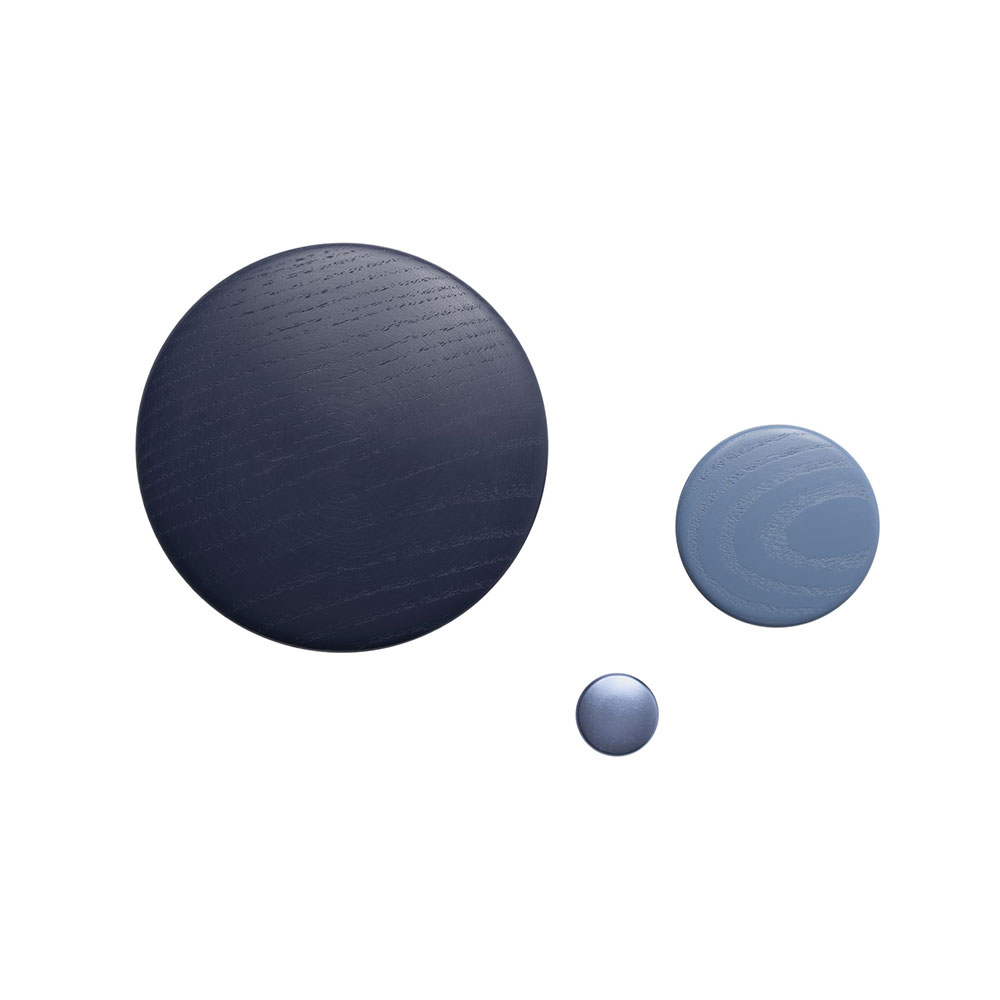 muuto the dots group wood metal midnight pale blue 1000