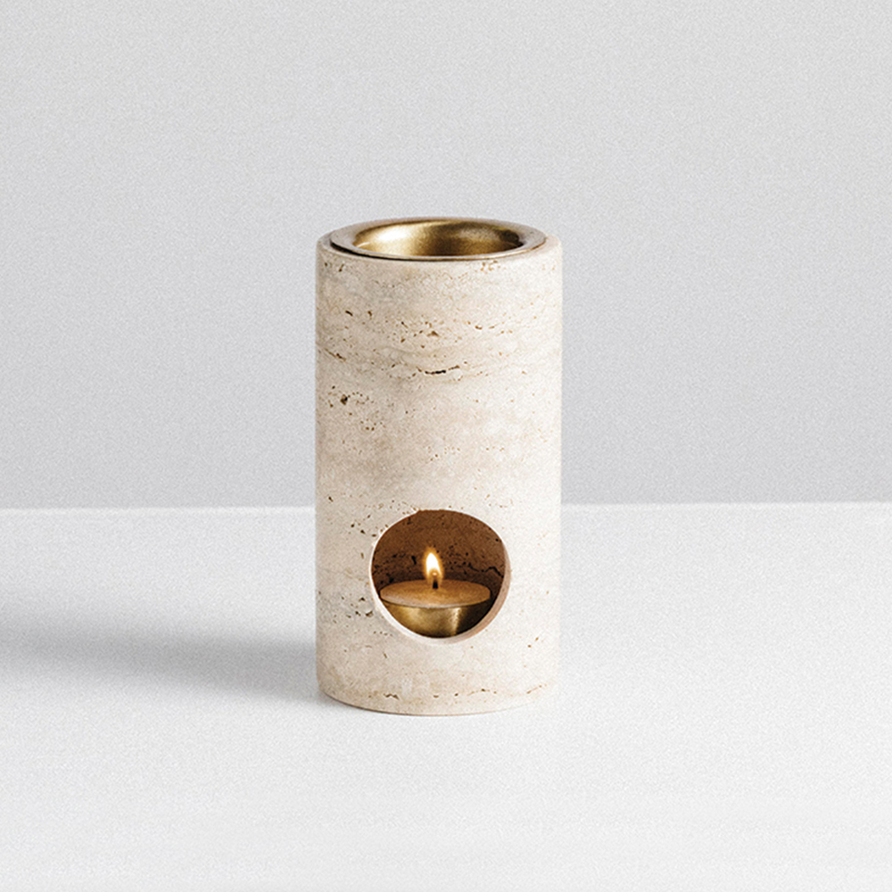 addition studio synergy oil burner travertine main 1000
