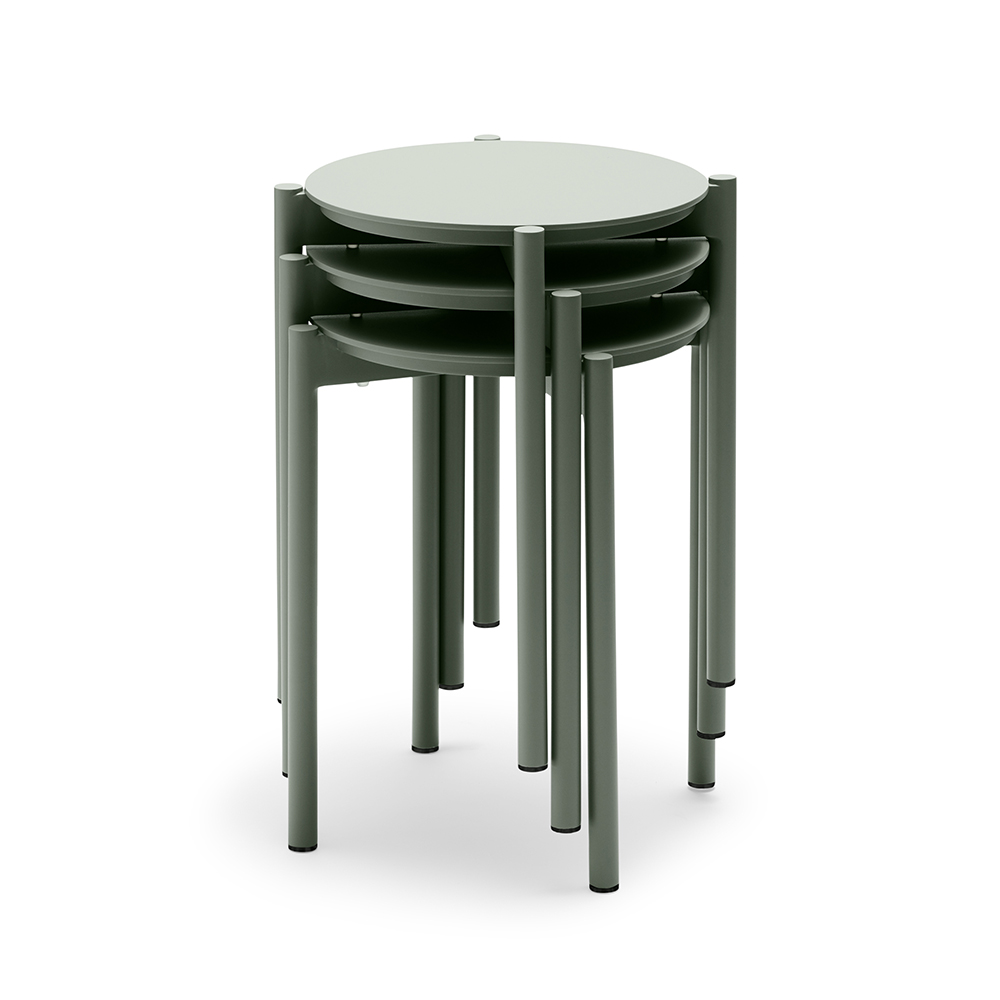 skagerak picnic stool grey stack 1000
