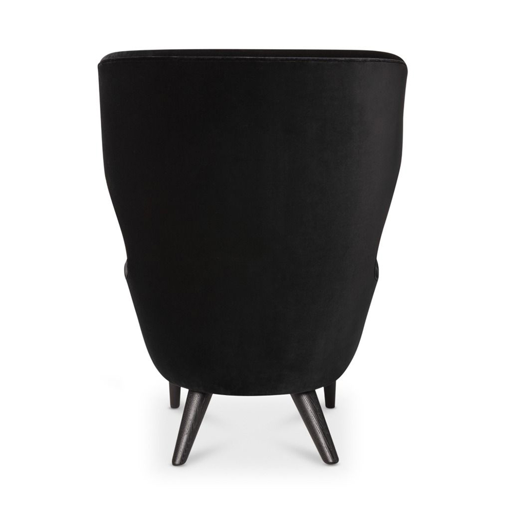 tom dixon micro wingback chair cassia black back 1000