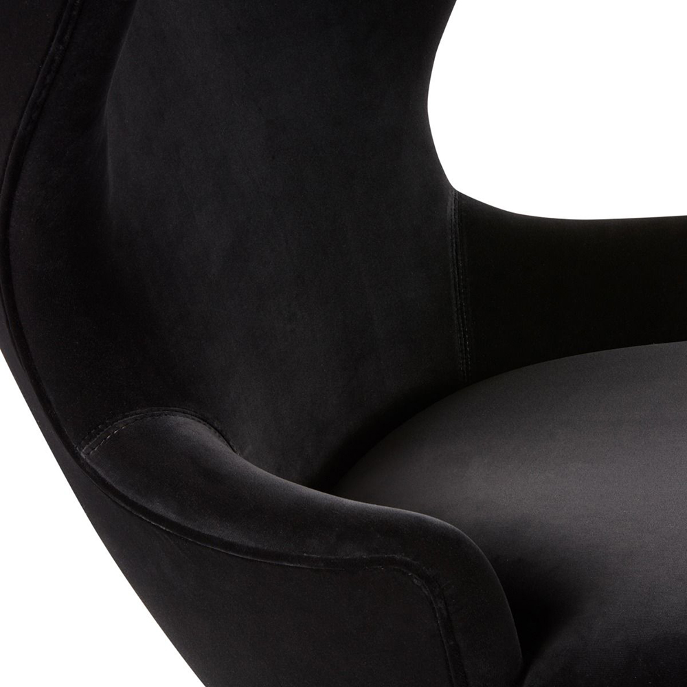 tom dixon micro wingback chair cassia black detail 1000