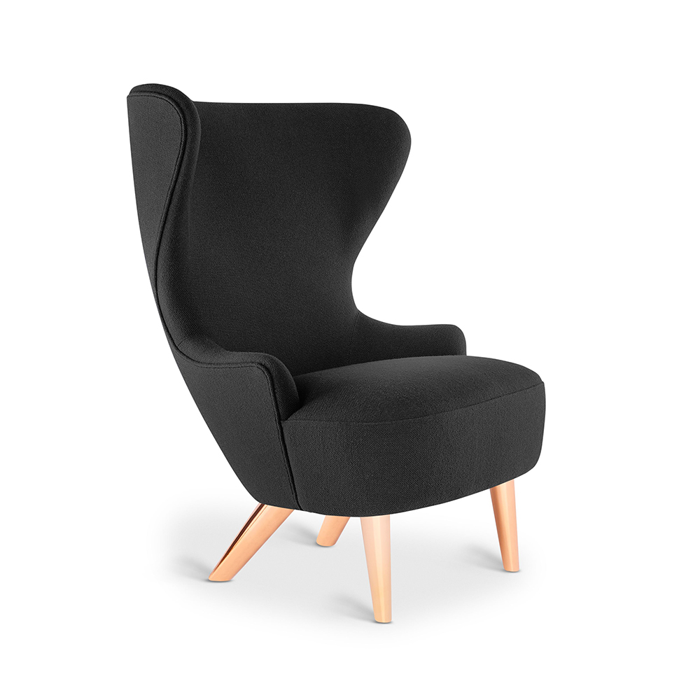 tom dixon micro wingback chair hallingdal 65 190 copper leg 1000