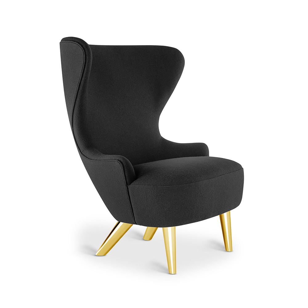 tom dixon micro wingback chair hallingdal 65 190 brass leg 1000