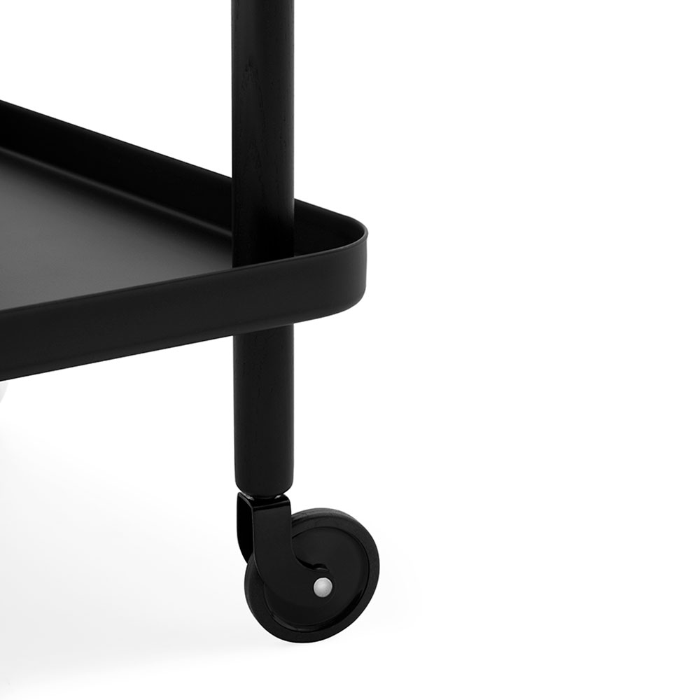 normann copenhagen block table black black detail 1000