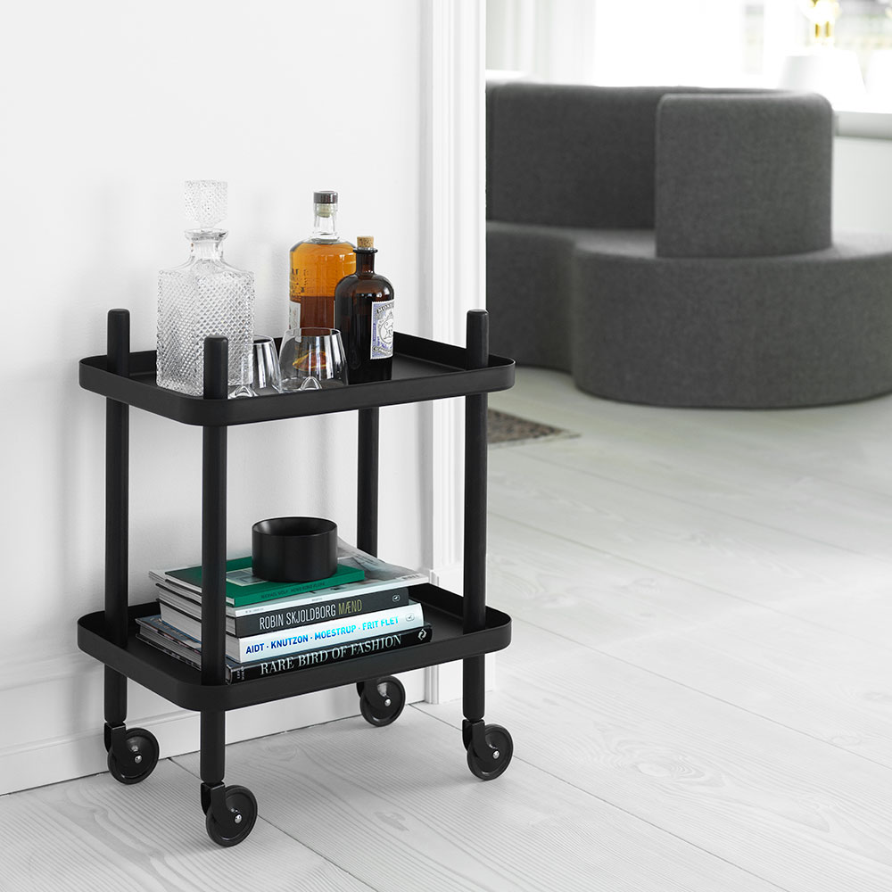 normann copenhagen block table black black lifestyle 1000