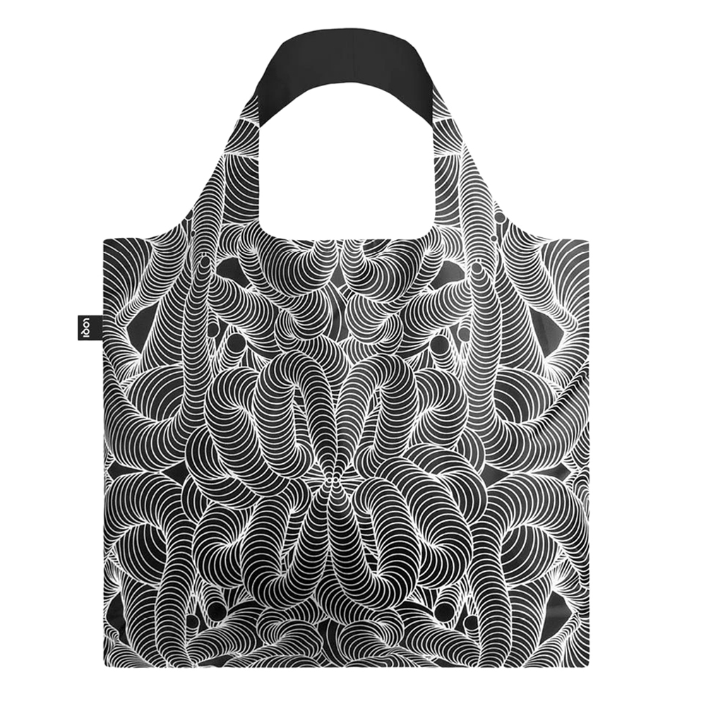 loqi shopping bag sagmeister walsh beauty pattern 1000