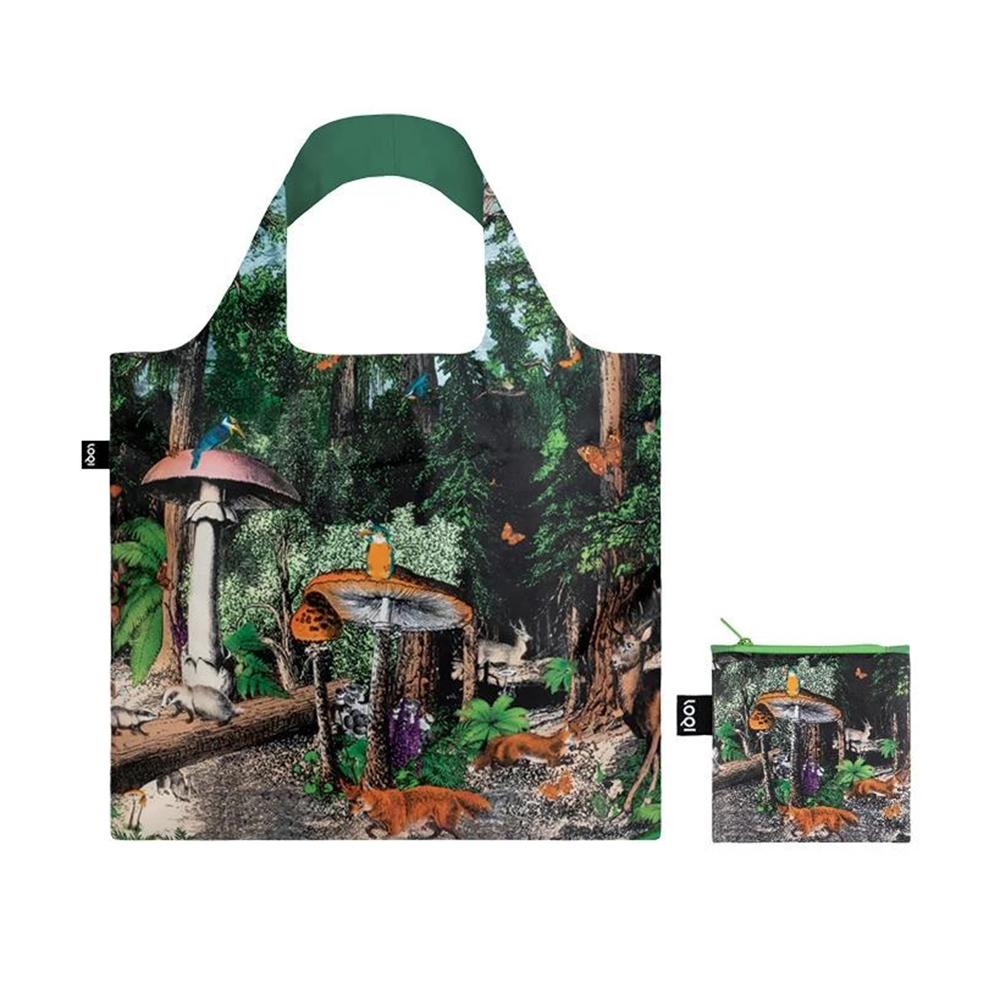 loqi shopping bag black forest pouch 1000