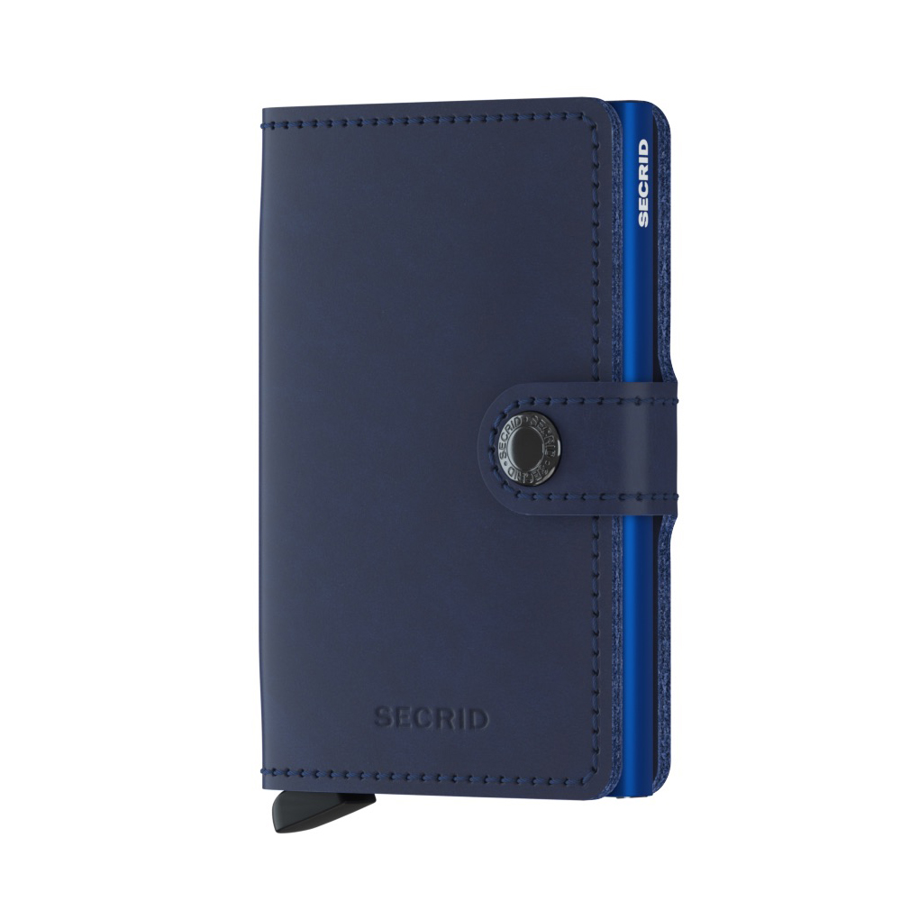 secrid miniwallet original navy blue front 1000
