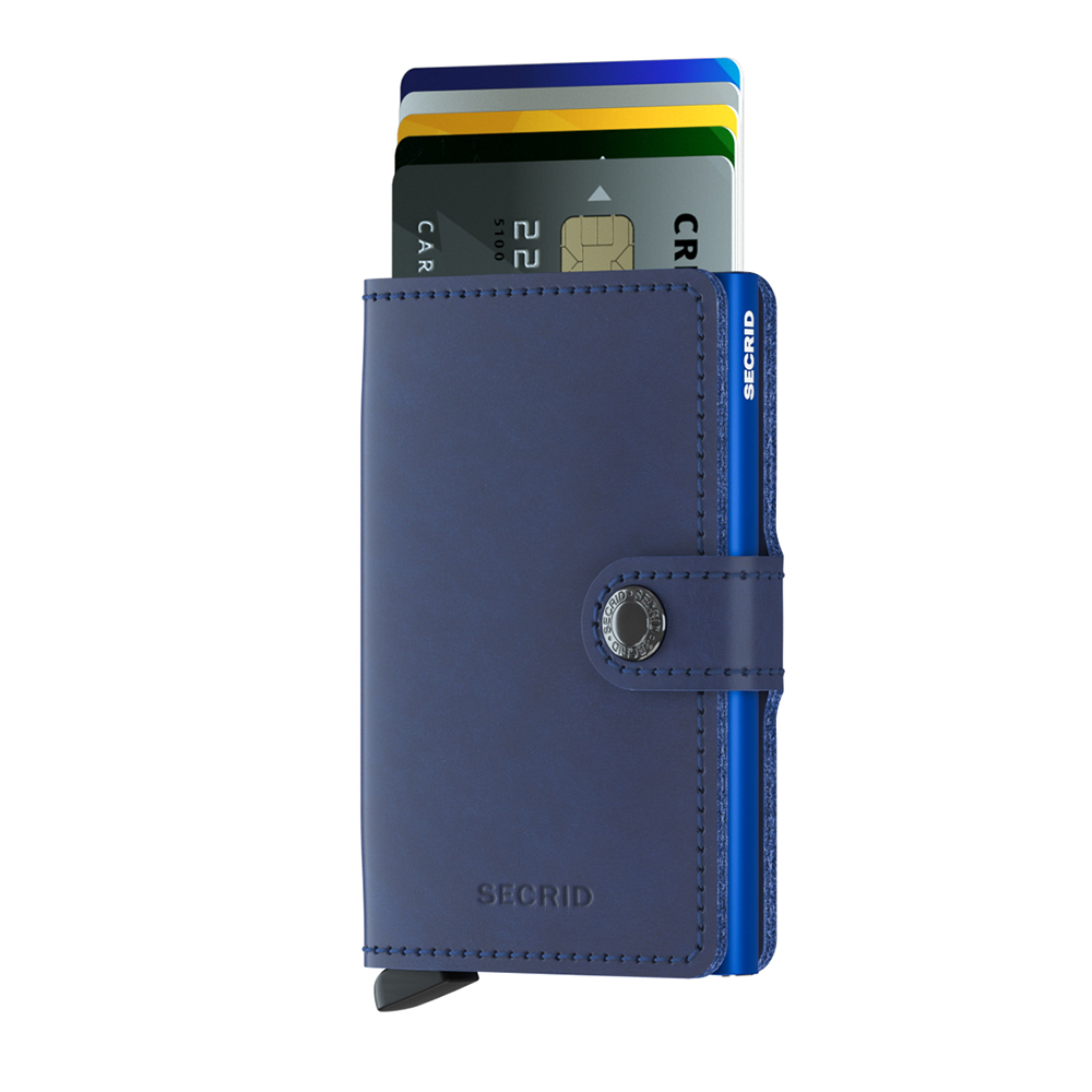 secrid miniwallet original navy blue cards 1000