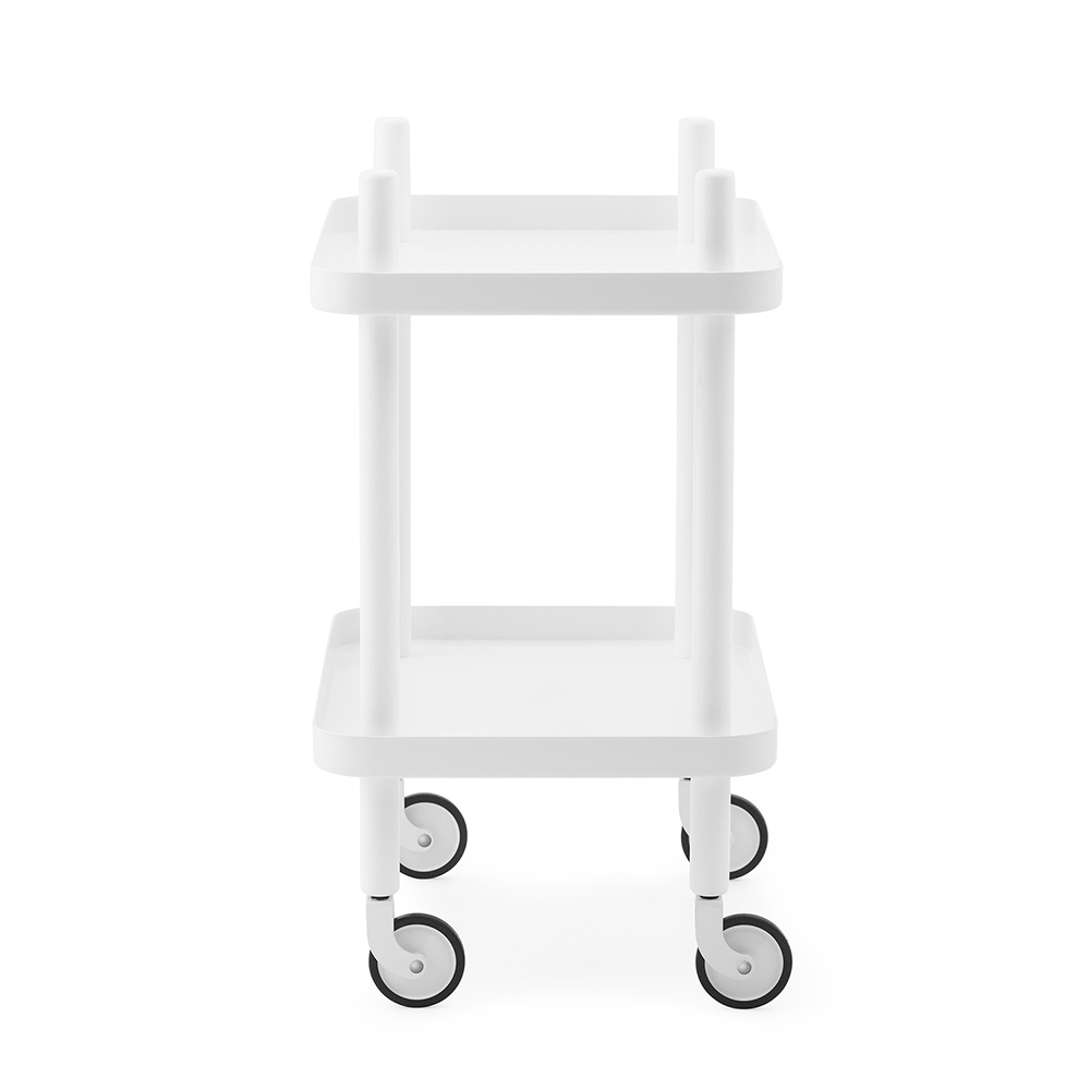 normann copenhagen block table all white side 1000