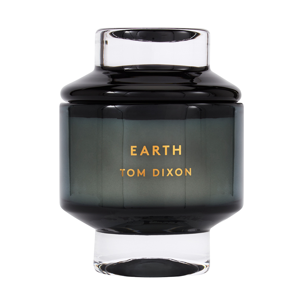 tom dixon elements candle earth large main 1000