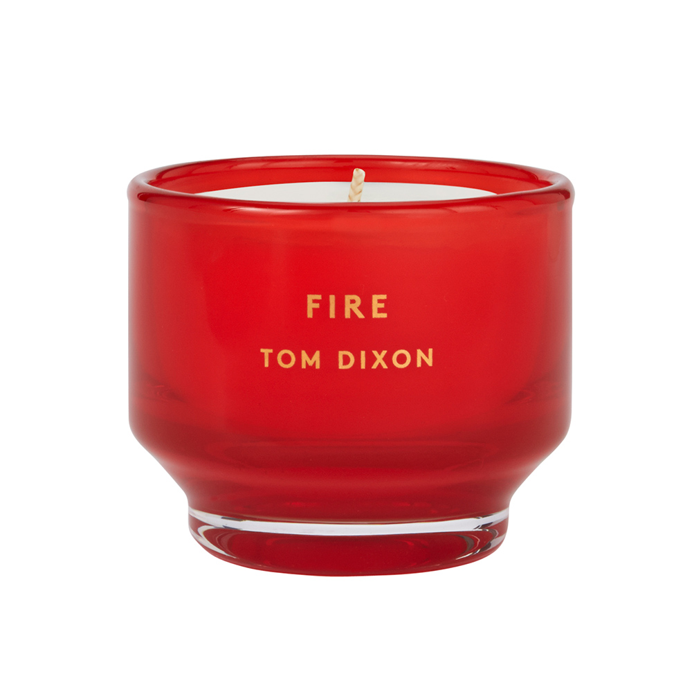 tom dixon elements candle gift set fire 1000