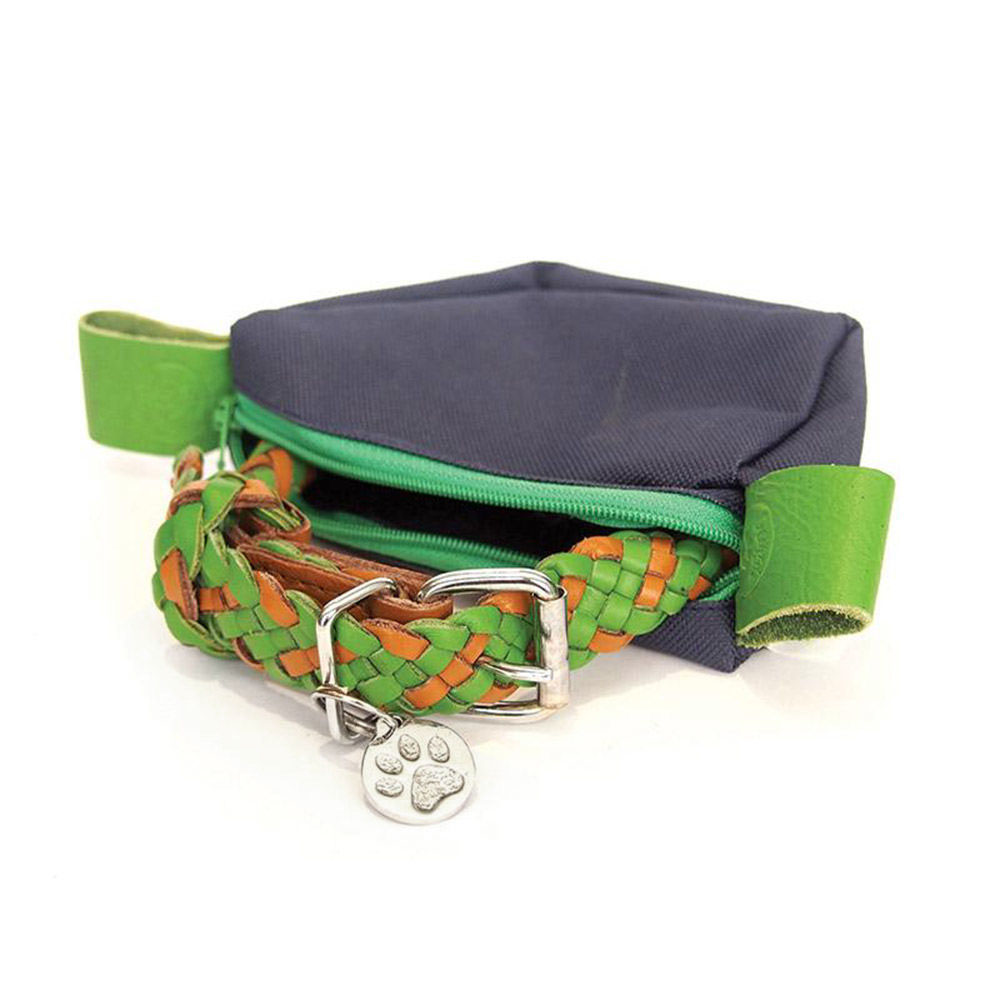 georgie paws tonto collar green 1000