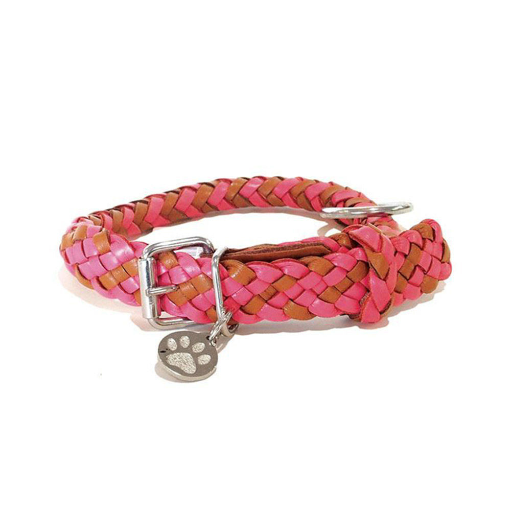 georgie paws tonto collar pink 2 1000