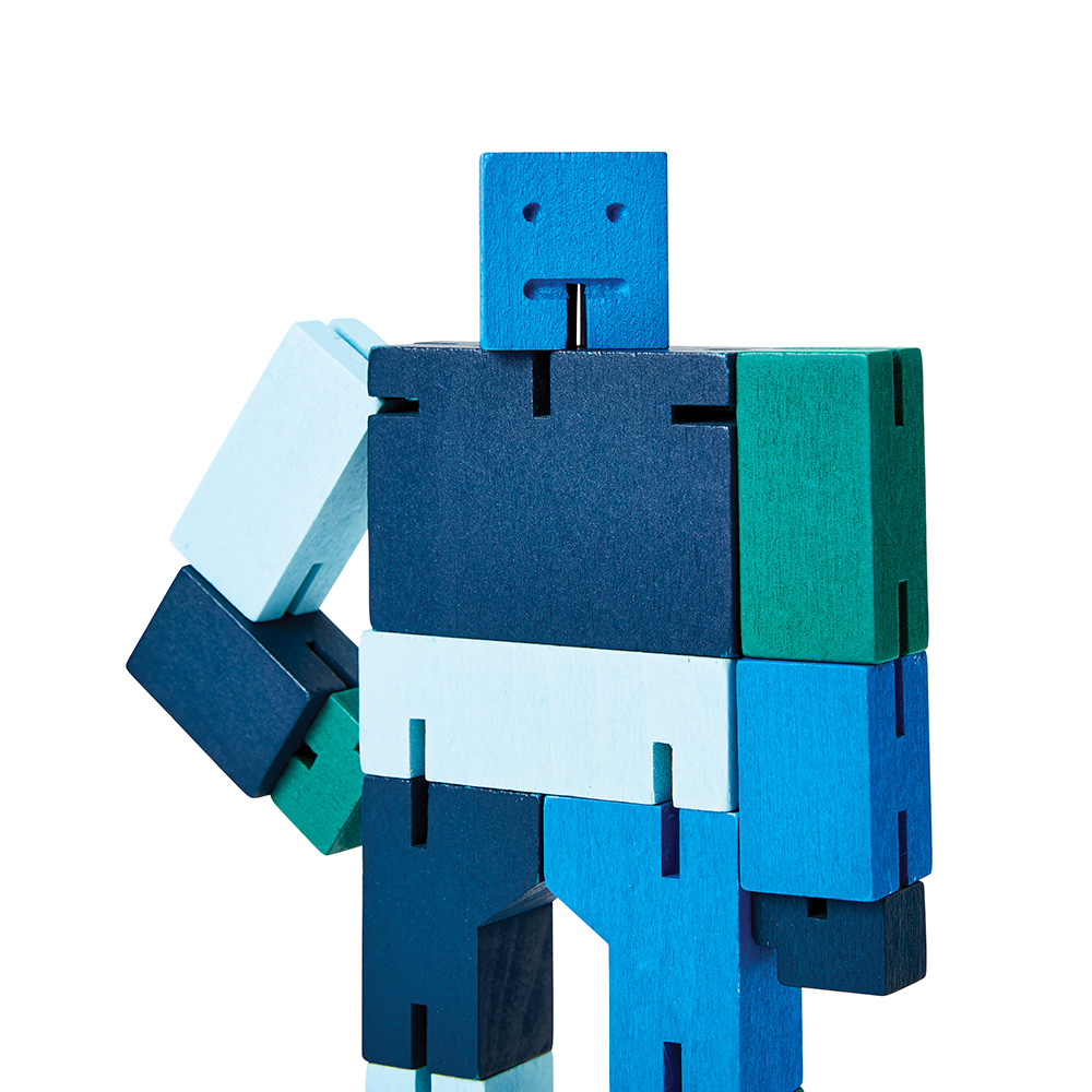 areaware cubebot capsule micro blue close 1000