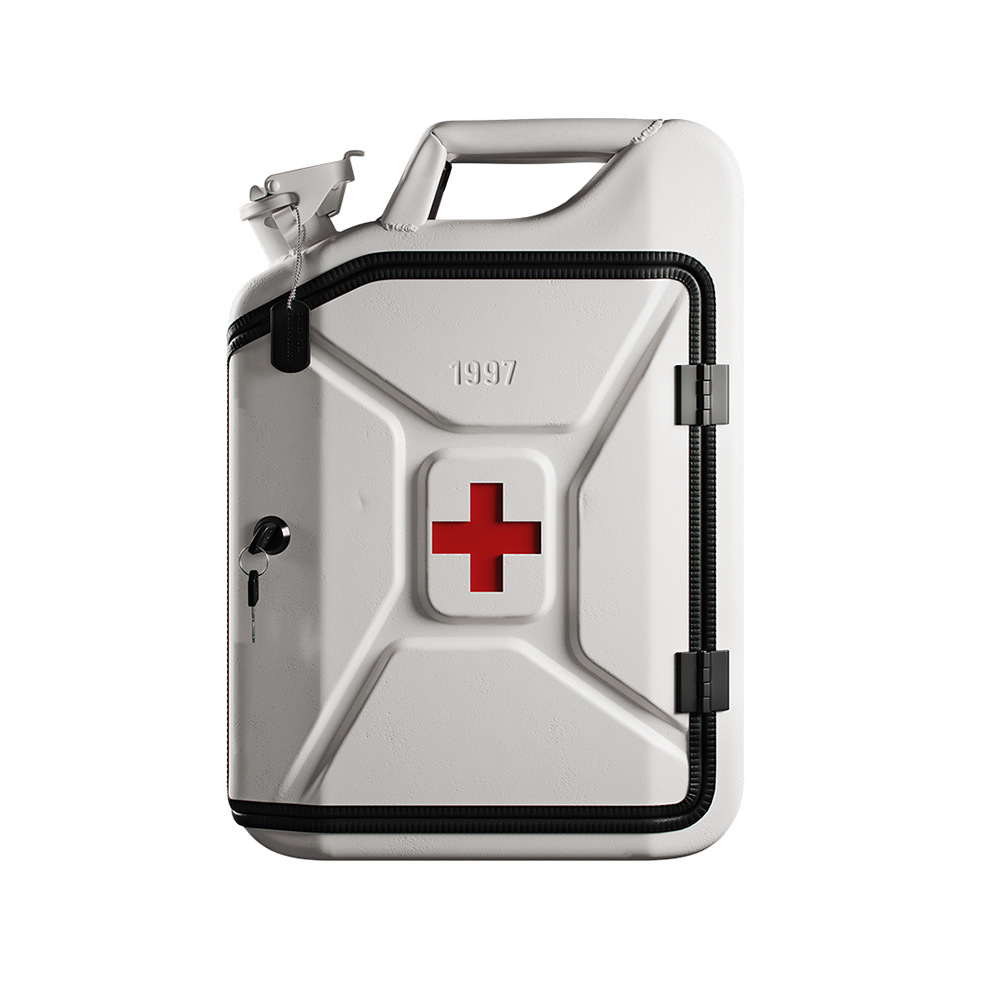 danish fuel first aid cabinet 1000